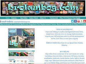 Brokenbog, UK's leading supplier of discontinued bathroomware